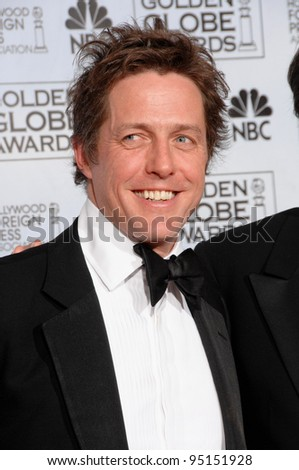 HUGH GRANT at the 64th Annual Golden Globe Awards at the Beverly Hilton Hotel. January 15, 2007 Beverly Hills, CA Picture: Paul Smith / Featureflash