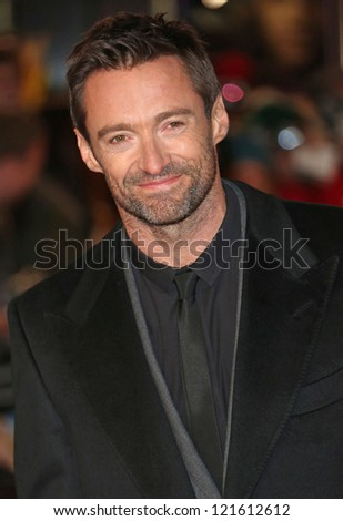 Hugh Jackman arriving at the World Premiere of 'Les Miserables' held at the Odeon & Empire Leicester Square, London. 05/12/2012 Picture by: Henry Harris