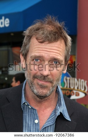 "Hugh Laurie  at the ""HOP"" World Premiere, Universal Studios, Universal City, CA. 03-27-11"