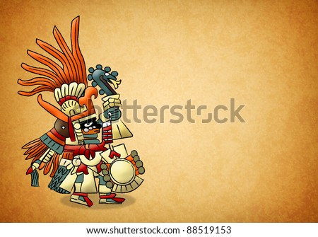 Huitzilopochtli - aztec - mexica - god of sun