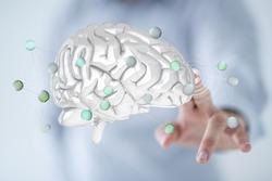 human brain ai science neuron cocnept