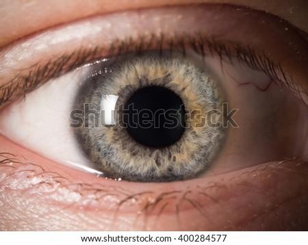 Human eye detail - Shutterstock ID 400284577