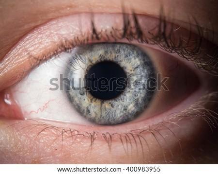 Human eye detail - Shutterstock ID 400983955