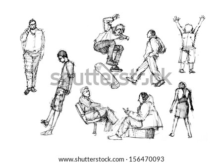 564638872012388561 likewise Search also The Human Body in addition Stock Photo Human Figure Drawing In Different Activities furthermore 2013 06 01 archive. on gesture drawings of people