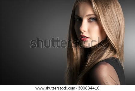 Human Hair, Women, Red Hair.
