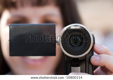stock photo human home video adult women holding lens camera 50800114 Browse our online catalogue of fun and unique sex toys for men and women.