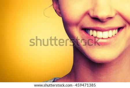 Human teeth. #459471385
