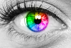 human vision color spectrum  concept