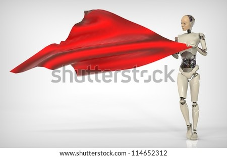 Humanoid and Fabric - Shutterstock ID 114652312