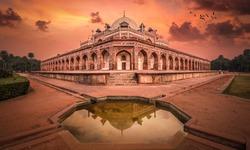 humayun's tomb in Delhi...
