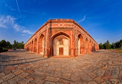 Humayun's tomb is the tomb of the Mughal Emperor Humayun in Delhi, India. The tomb was commissioned by Humayun's first wife and chief consort, Empress Bega Begum, in 1569-70, Delhi, India