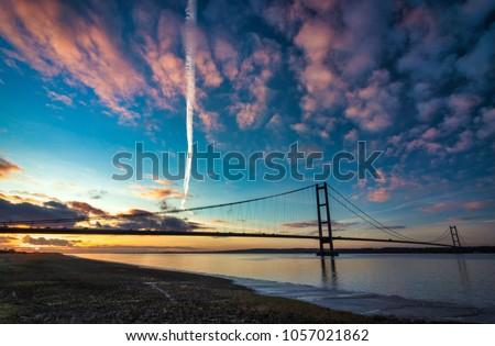 Humber Bridge, Suspension Bridge #1057021862