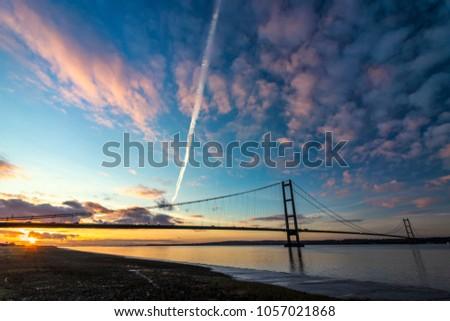 Humber Bridge, Suspension Bridge #1057021868