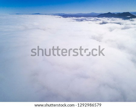 Humidity clouds coming from the Pacific Ocean and crashing to the Andes mountains called in Chile: Camanchaca, a cloud formed by humidity that every morning covers the Atacama Desert bringing life