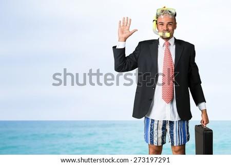 Humor, Snorkel, Flipper. #273197291