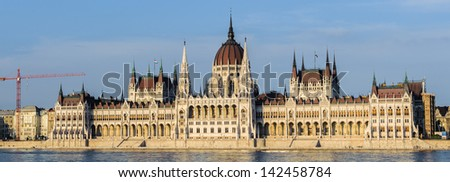 Hungarian Parliament Building, the seat of the National Assembly of Hungary, one of Europe\'s oldest legislative buildings, a notable landmark of Hungary and a popular tourist destination of Budapest.
