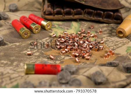 hunting ammunition, capsule, hunting decoys #793370578