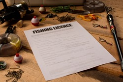 Hunting and fishing topic: Fishing licence or fishing permit. Regulations or legal mechanism to control fishing.