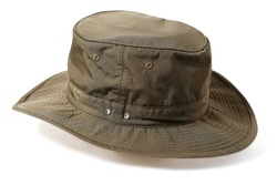 Hunting hat isolated on white