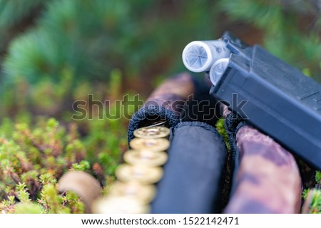 hunting items. hunting concept. hunting background. #1522142471
