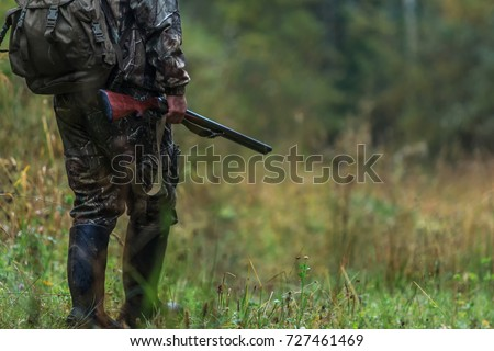 hunting items. hunting concept. hunting background. #727461469