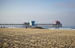 Huntington Beach California popular tourist destination