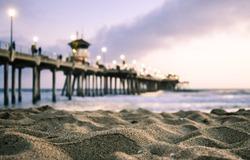 Huntington Beach Pier, Beach Sunset