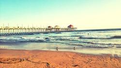 Huntington Beach, summer 2015.