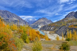Hunza Valley  Hunza is probably Pakistan's most visited valley, by the tourists. It is a fairy tale land surrounded by beautiful rugged & snow capped mountains.