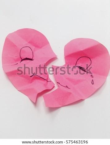 hurt heart pink #575463196