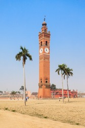 Husainabad Clock Tower (Ghanta Ghar Tower) is a clock tower located in the Lucknow city of India
