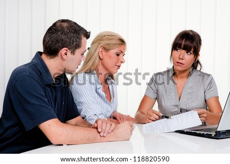 husband and wife in a counseling session