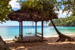 Hut at Englishman's Bay, Trinidad and Tobago, W.I.