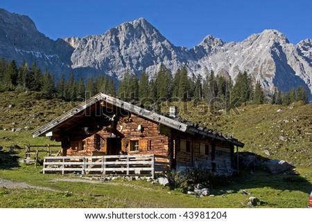 Hut in Alps