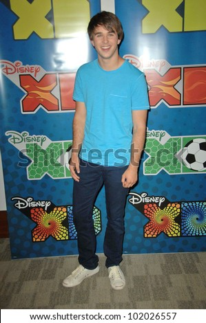 Hutch Dano at the Disney ABC Television Group Summer Press Junket, ABC Studios, Burbank, CA. 05-15-10