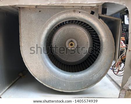 HVAC blower motor of a air handler