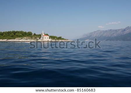 Hvar, Sucuraj lighthouse. Croatia