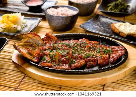 hwangtae gui is korean style Grilled Dried Pollack #1041169321
