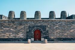 Hwaseong Fortress Bongdon, Korean traditional architecture in Suwon, Korea