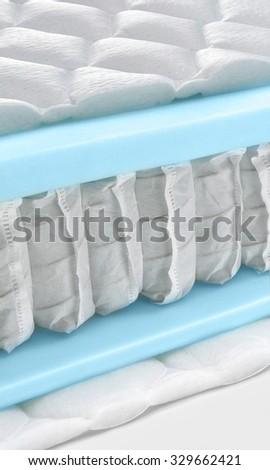Hybrid foam latex bonnell spring mattress cross section - hi quality and modern