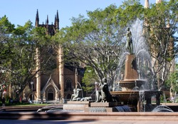 Hyde park,Sydney,Australia