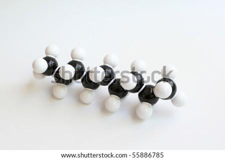 Hydrocarbon  Nonane Space-filling Molecule Nonane Molecule