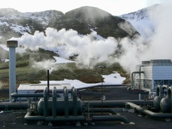Hydrogen production plant in Iceland