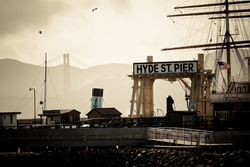 Hyds St Pier - San Francisco, California,