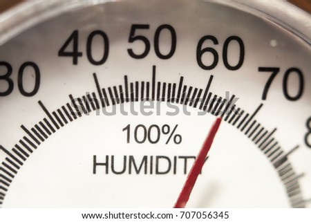 hygrometer Gauge #707056345