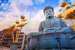 Hyogo Daibutsu - The Great Buddha at Nofukuji Temple in Kobe, Japan