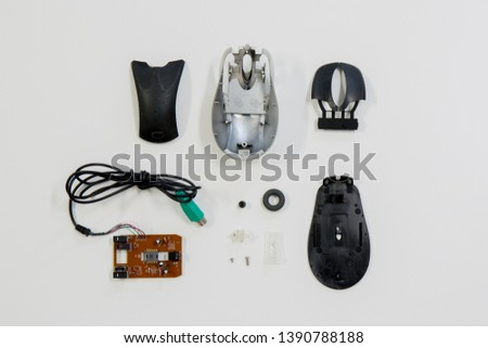 I disassembled the mouse and looked from above  #1390788188