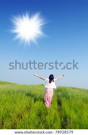 I love you, summer sun!
