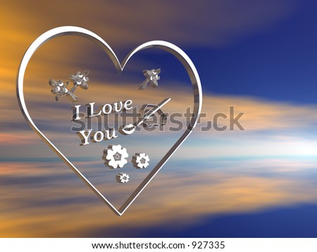 3d i love you hd wallpapers 3d heartshaped note picture i love you ...
