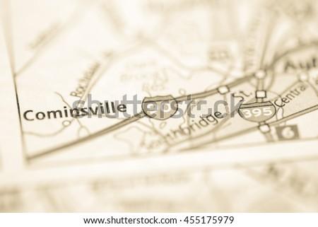 I-90. Massachusetts. USA #455175979